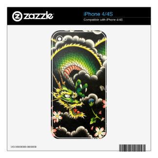 night dragon iPhone 4S decal