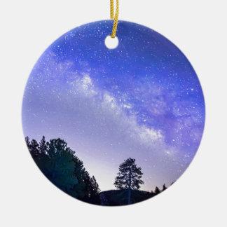 Night Driver Ceramic Ornament