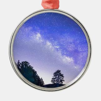Night Driver Metal Ornament