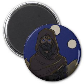 Night Dunes Magnet