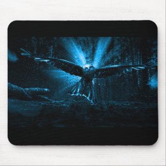 Night Eagle Mouse Pad