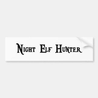 Night Elf Hunter Sticker