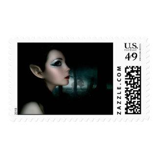 Night Elf Postage Stamp
