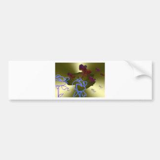 night-elves bumper sticker