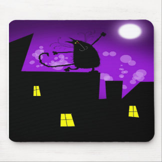 Night enthusiast mouse pad