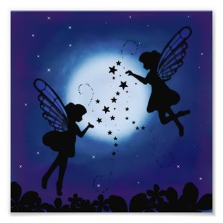 Night Fairies Wall Art