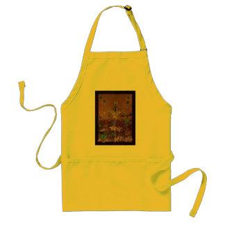 night  fairy adult apron