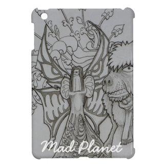 Night Fairy and Angry Bear iPad Mini Cover