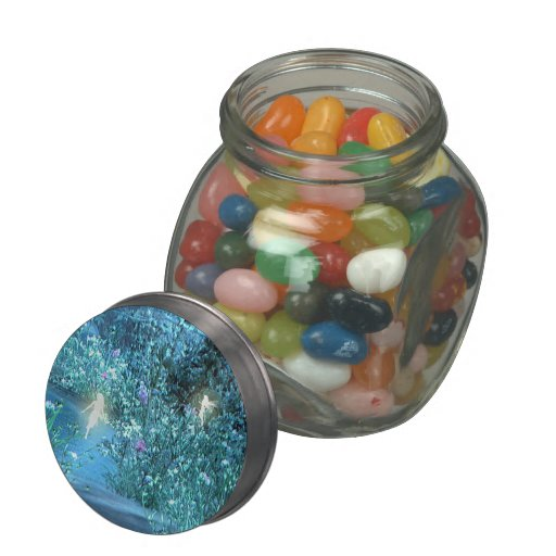 Night fairy jellybean jars and  tins jelly belly candy jars