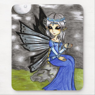 Night fairy mouse pad