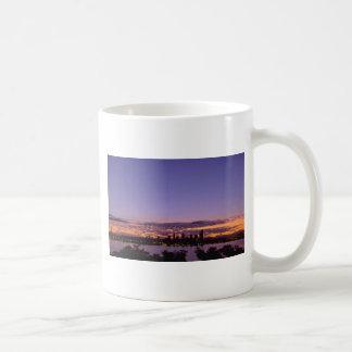 Night Falls In City Mug