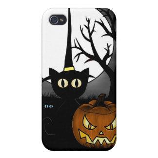 Night fantasmagórico iPhone 4 protectores