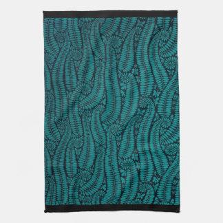Night Ferns Dish Towel