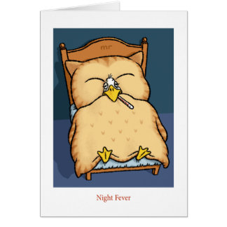 Night Fever Card