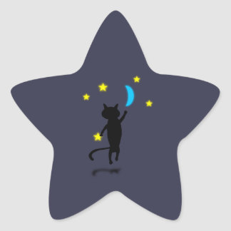 Night Fisher Star Sticker