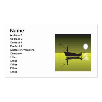 Night Fishing Business Card