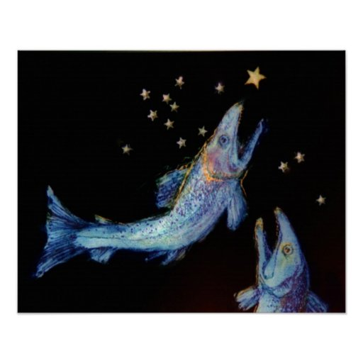 Night Fishing Poster