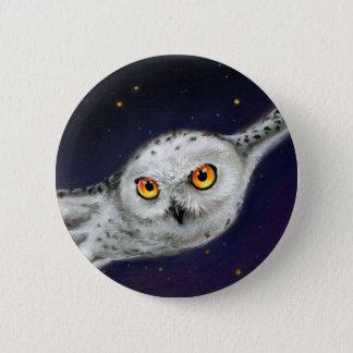 Night Flight Pinback Button