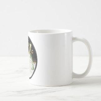 Night Flight - White Arabian Horse Coffee Mug