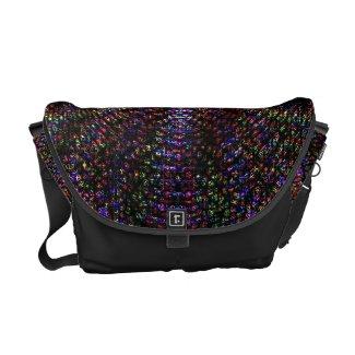 Night Flower messenger bag