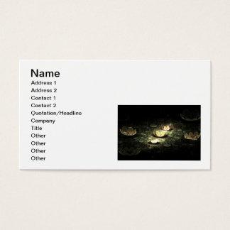 Night Flowers Business Card
