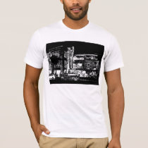 Night for Cafe and Billiards T-Shirt