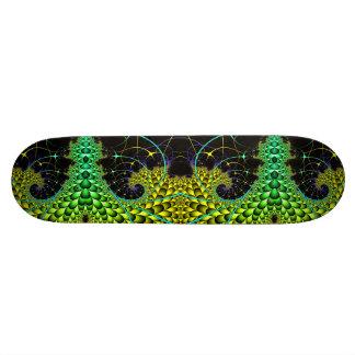 Night Fractals Skateboard Decks