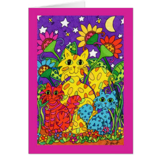 Night Garden Card
