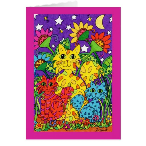 Night Garden Cards