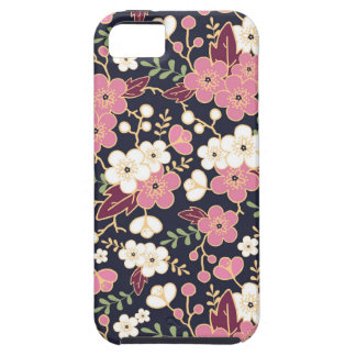 Night Garden Flowers Pattern iPhone 5 Covers