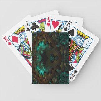 Night Garden Fractal Playing Cards