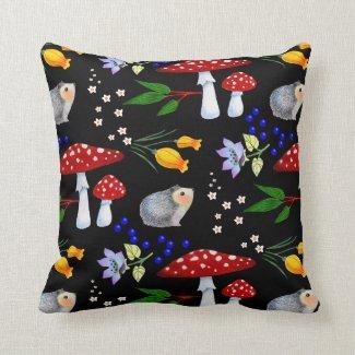 Night Garden Hedgehog Pillow
