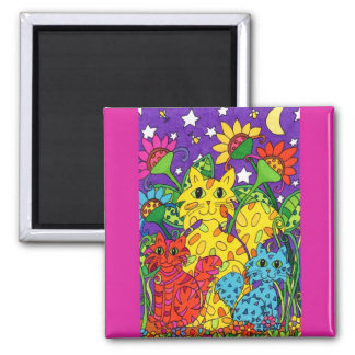 Night Garden Magnet