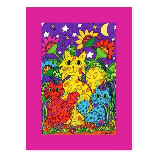 Night Garden Postcards
