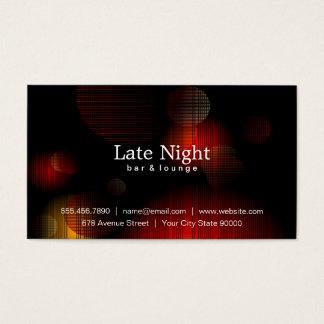 Night Glow Business Card
