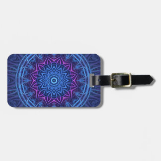 Night Glow Mandala Bag Tag