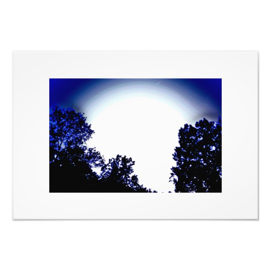 night glow photo print