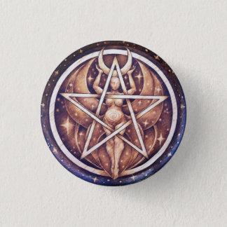 Night Goddess Pentacle Pin