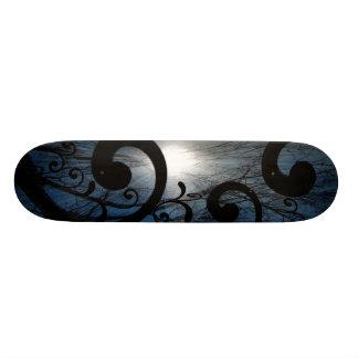 Night grinder skateboard deck