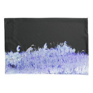 Night Heron Bird Animal Wildlife Island Pillowcase