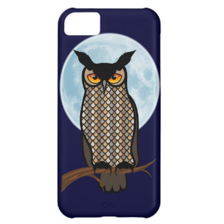 Night Horned Owl Phone Cover iPhone 5C Cover