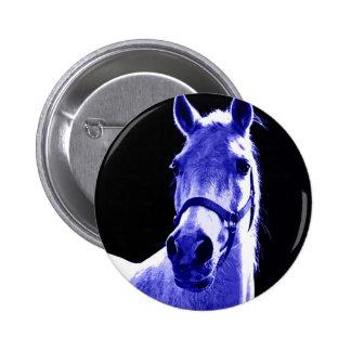 Night Horse Pinback Button