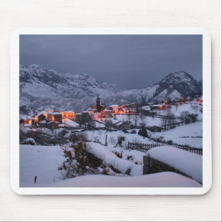 Night in Alles (Spain) Mouse Pad