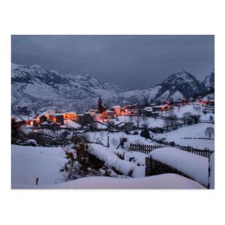 Night in Alles (Spain) Postcard