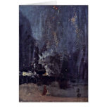 Night In Black And Gold By James Mcneill Whistler Cards