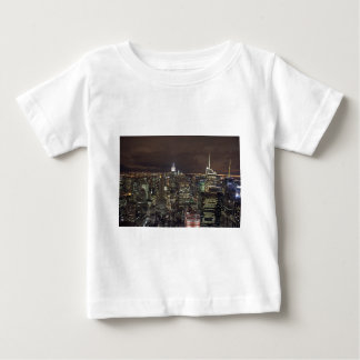 night in nyc infant t-shirt