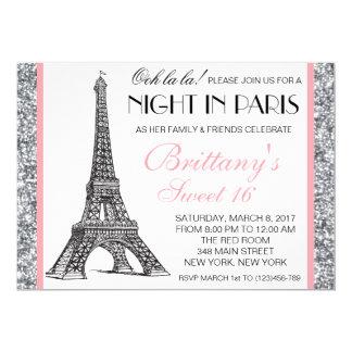 Night in paris invitations announcements zazzle - Salon des seniors paris invitation ...
