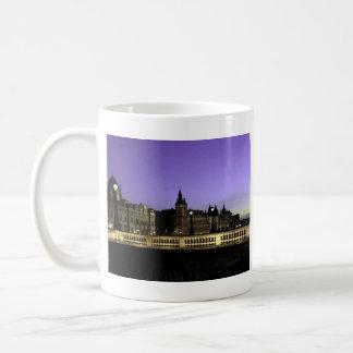 Night in Paris Watercolor Coffee Mug