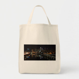 Night in Philly Grocery Tote Bag