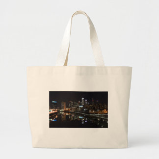 Night in Philly Jumbo Tote Bag
